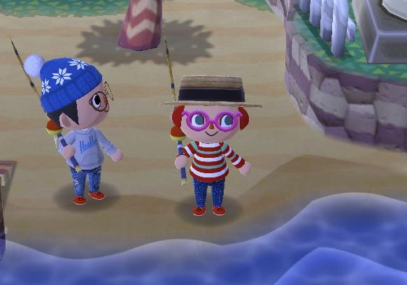 ゲーム「どうぶつの森 ポケットキャンプ」の画面。