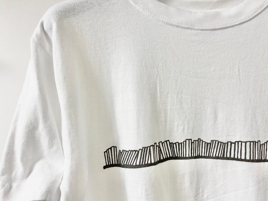 Tシャツの柄のアップ