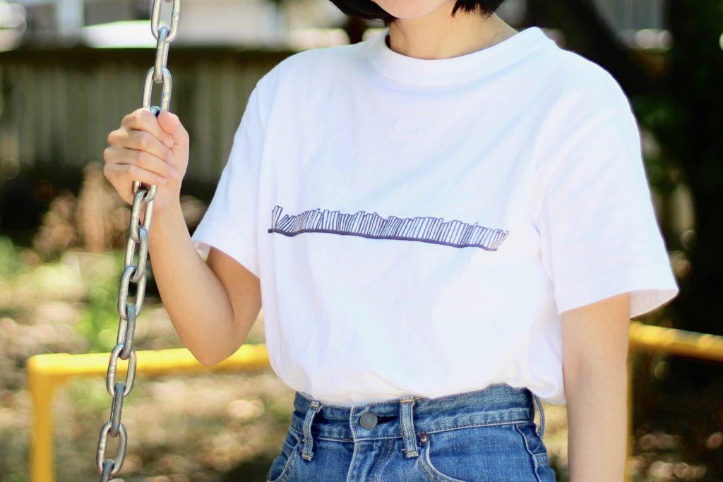 Tシャツの着用イメージ