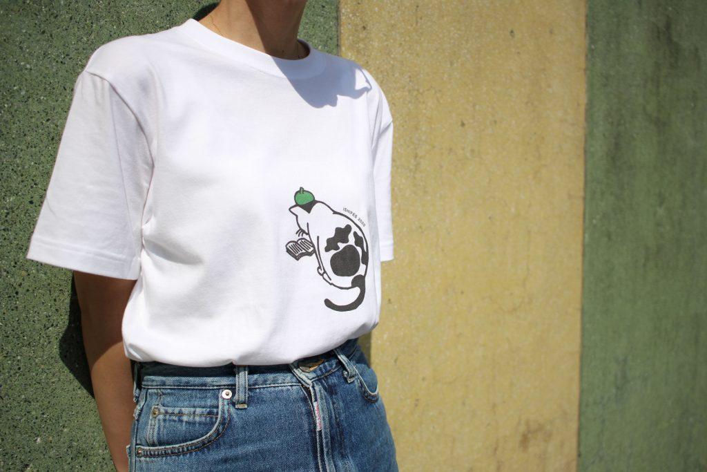 ISHIFES2020コラボTシャツの着用画像